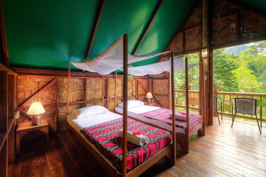 Treehouse accommodation at Our Jungle Camp