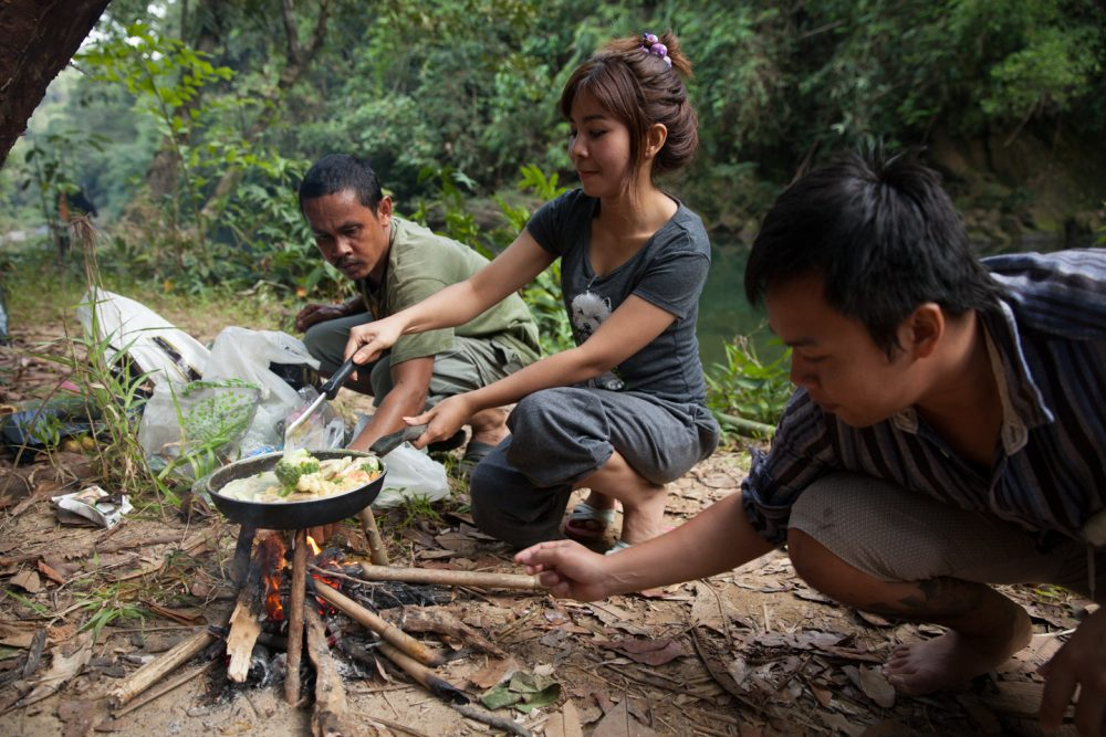 Jungle camping in Khao Sok national park - Our Jungle Camp