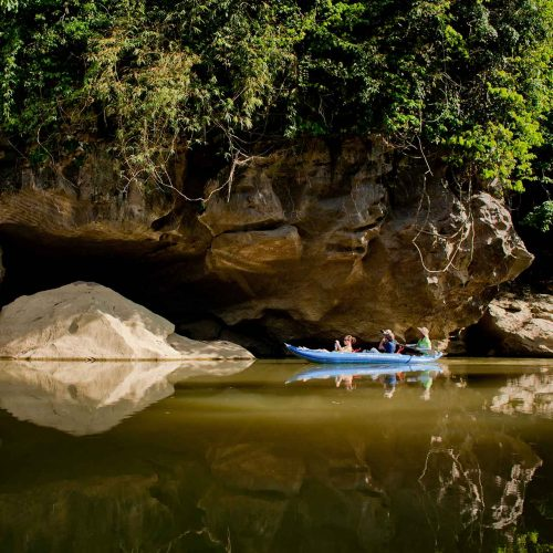 Canoeing in Khao Sok with Our Jungle Camp