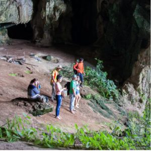 Cave trekking in Khao Sok - Our Jungle Camp
