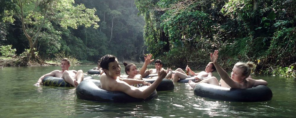 River tubing in Khao Sok national park - Our Jungle Camp
