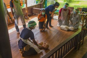 First aid Safety Training Our Jungle Camp