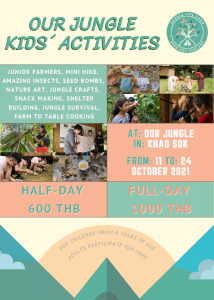 Jungle Life Camp Activitiy Flyer